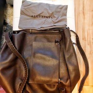 All Saints Kita Leather Backpack